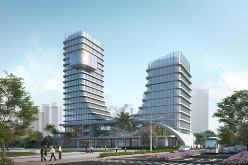 亞洲‧矽谷創新研發中心示意圖。(圖/桃園市政府提供)