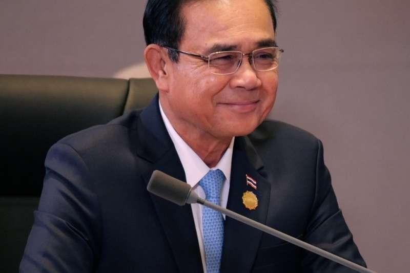泰國總理帕拉育(Prayut Chan-o-cha)舉台灣新加坡為例,認為自產疫苗是解決新冠肺炎疫情最佳的方式。(圖取自臉書)