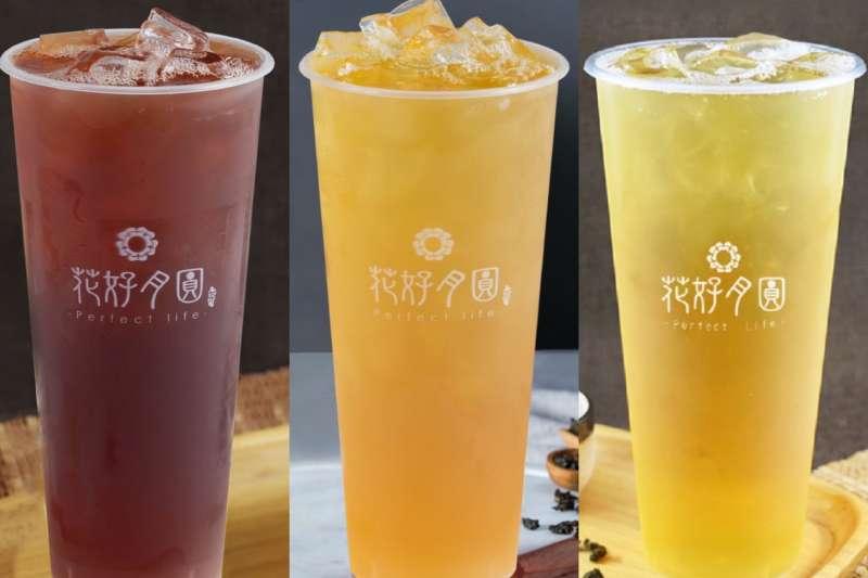 桐葉紅茶、翠芽綠茶、穀雨青茶三項茶飲拿下食品界米其林「iTQi」2星評鑑。(圖/業者提供)