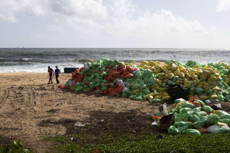 海洋塑膠垃圾是地球生態一大威脅(AP)