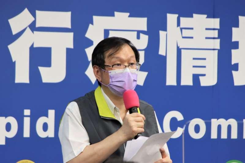 中央流行疫情指揮中心發言人莊人祥指出,國內24日新增34例新冠疫苗接種後發生死亡之不良事件。(資料照,中央流行疫情指揮中心提供)