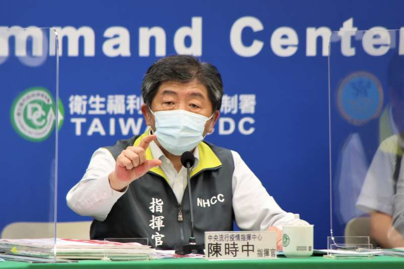 中央流行疫情指揮中心指揮官陳時中23日宣布,全台三級警戒延長至7月12日。(資料照,中央流行疫情指揮中心提供)