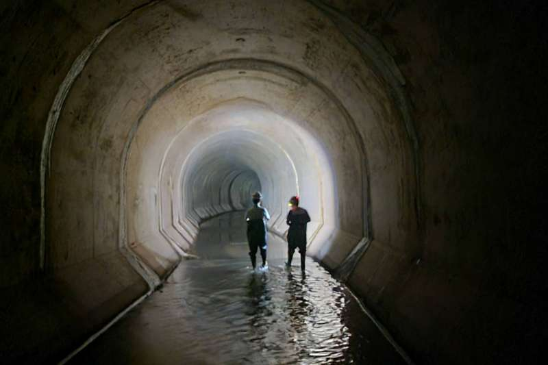 新北市政府水利局已完成519公里水利建造物檢查。(圖/新北市水利局提供)