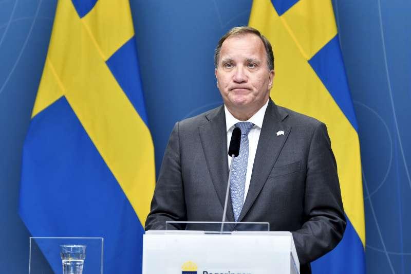 瑞典總理勒文(美聯社)