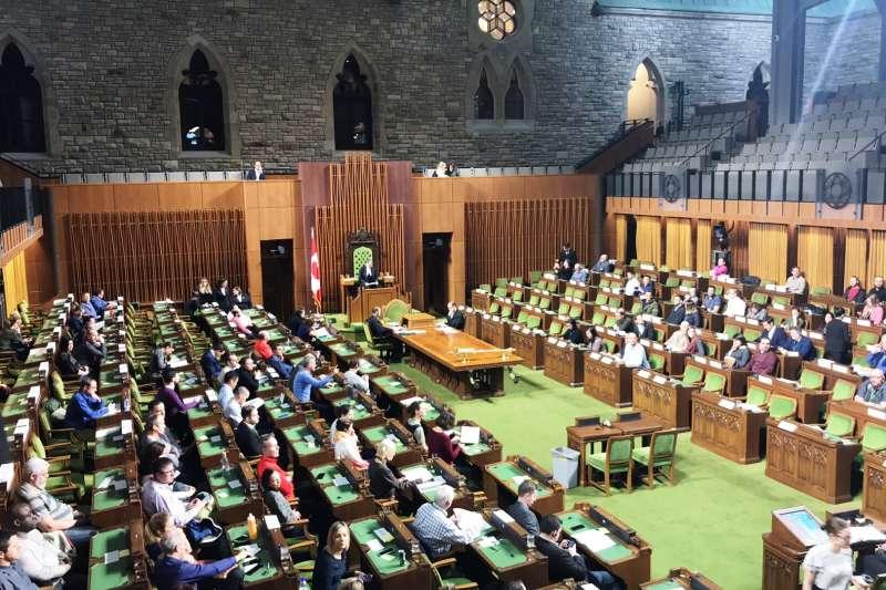 6月17日加拿大國會一讀通過由保守黨議員庫柏領銜提案的《加台關係框架法》。(取自維基百科,攝影/Leafsfan67.CC BY-SA 4.0)