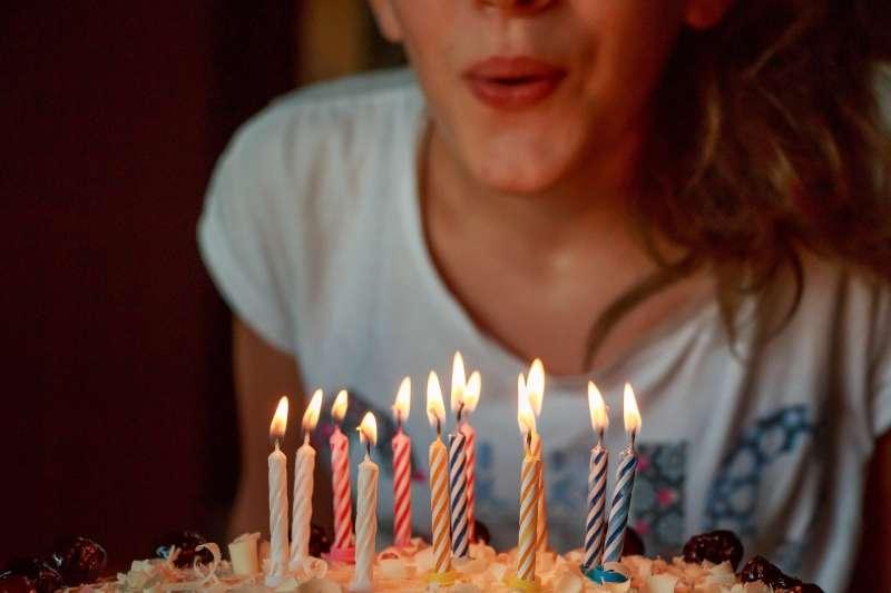 生日、慶生、派對、蠟燭(Pixabay)
