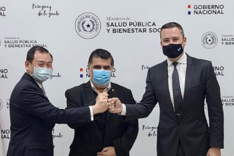 與聯亞生技合作研發新冠疫苗的美國公司Vaxxinity宣布,台灣友邦巴拉圭政府購買100萬劑疫苗。(圖/取自Vaxxinity)