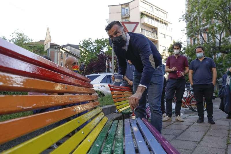 義大利要立法把歧視LGBT族群列為仇恨罪,圖為提案的眾議員贊恩(AP)