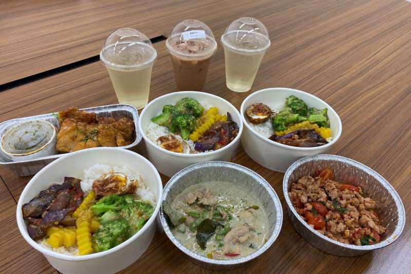 遠雄廣場推出許多限定的外帶優惠,在疫情期間免排隊享用多種的異國美食!(圖/業者提供)