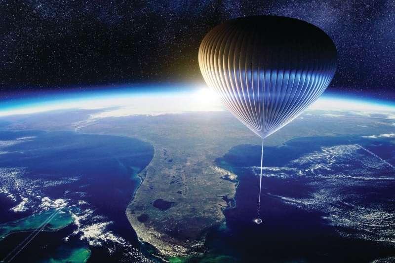 Space Perspective已開放大眾預定2024年的氣球太空船載人航班。(取自Space Perspective官網)