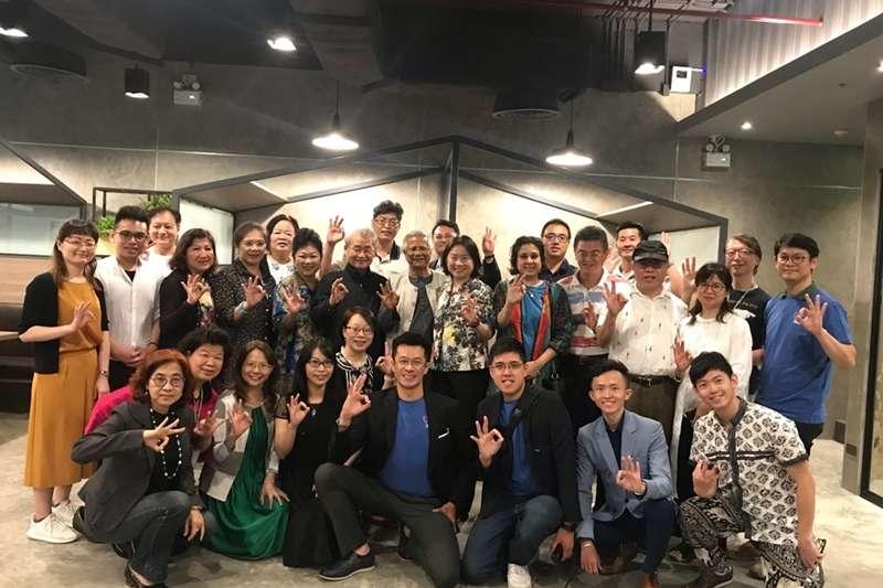 台灣尤努斯基金會每年皆籌組代表團參與尤努斯社會型企業世界年會,今年因疫情改為線上參與。( 圖/台灣尤努斯基金會提供)