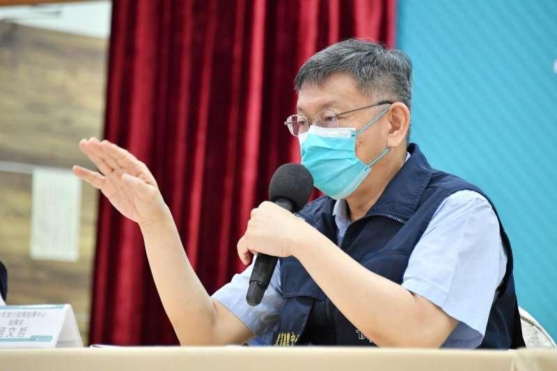 針對日本再度援台疫苗,柯文哲說,當年在311時,台灣是全球各國捐款最多的,台日友善,本來就是在危急的時候互相幫忙。(台北市政府提供)