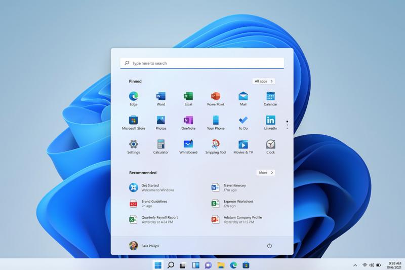 windows11(圖/取自微軟官網)