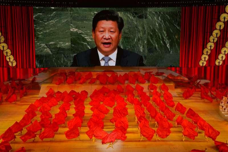 習近平說要「塑造可信、可愛、可敬的中國形象」。(資料照,美聯社)