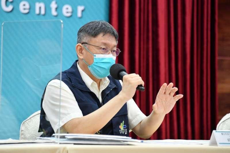 針對美國白宮說不支持台灣獨立,台北市長柯文哲表示是預料中的事情。(資料照,北市府提供)