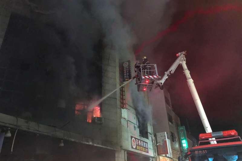 彰化喬友大樓火警,造成4死悲劇、其中包括1名消防員殉職。(資料照,取自彰化縣政府網站)