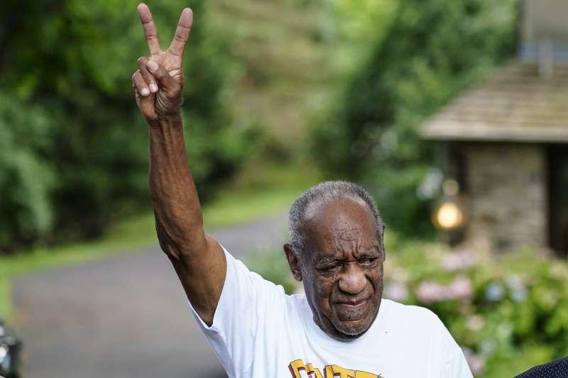 2021年6月30日,好萊塢色魔比爾寇斯比(Bill Cosby)獲釋出獄(AP)