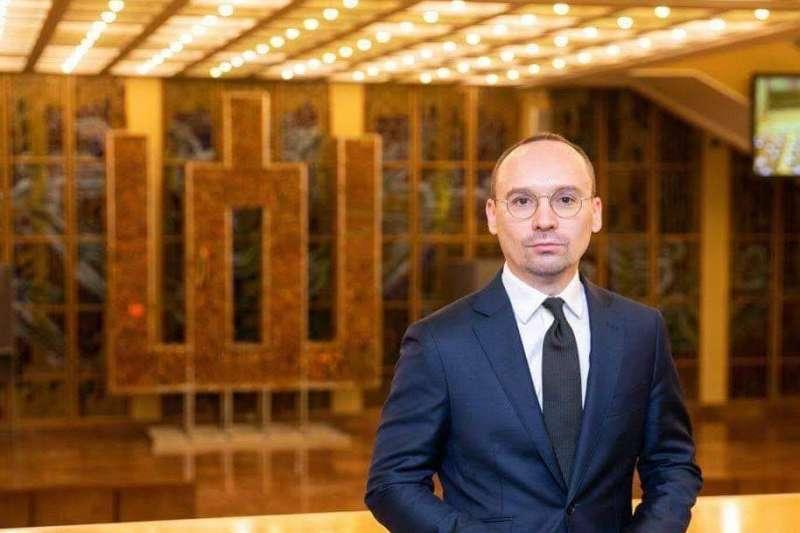 立陶宛國會友台小組主席莫德基斯(莫德基斯提供)