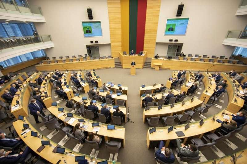 立陶宛國會(資料照,AP)