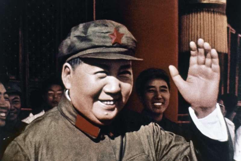 毛澤東,攝於1969年(AP)