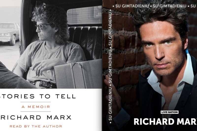 理查馬爾克斯的新書封面(左)。(翻攝理查馬爾克斯臉書)