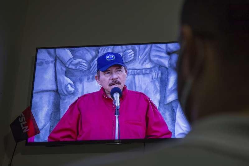2021年6月,尼加拉瓜總統奧德嘉(Daniel Ortega)大舉逮捕反對黨領袖(AP)