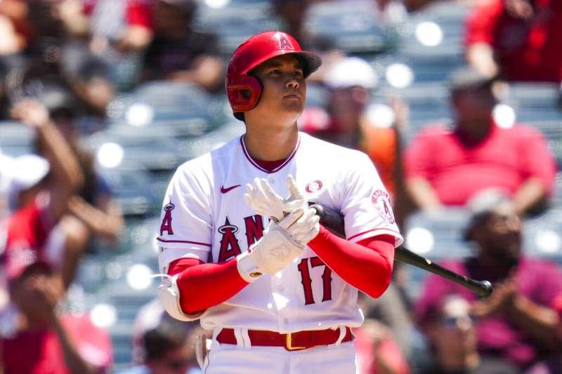 美國職棒大聯盟場上,洛杉磯天使隊日籍球星大谷翔平驚人的全能表現,令不少球迷為之瘋狂。(美聯社)