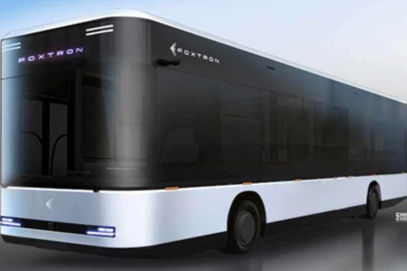鴻華科技E Bus。(圖/鴻華先進科技提供)