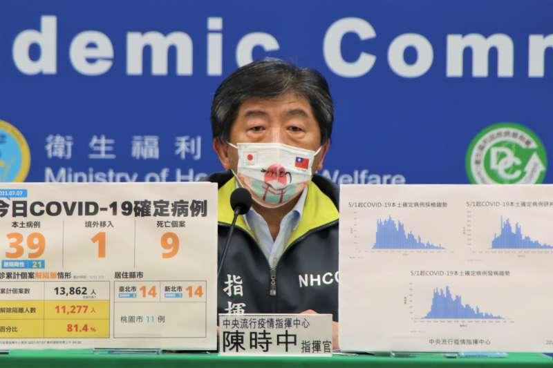 指揮官陳時中說明,除新增高端疫苗供20歲以上民眾選擇外,另也可讓民眾再調整有意願接種的疫苗。(資料照,指揮中心提供)