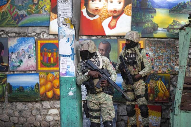 2021年7月7日,加勒比海島國海地總統摩依士(Jovenel Moïse)遇刺身亡(AP)