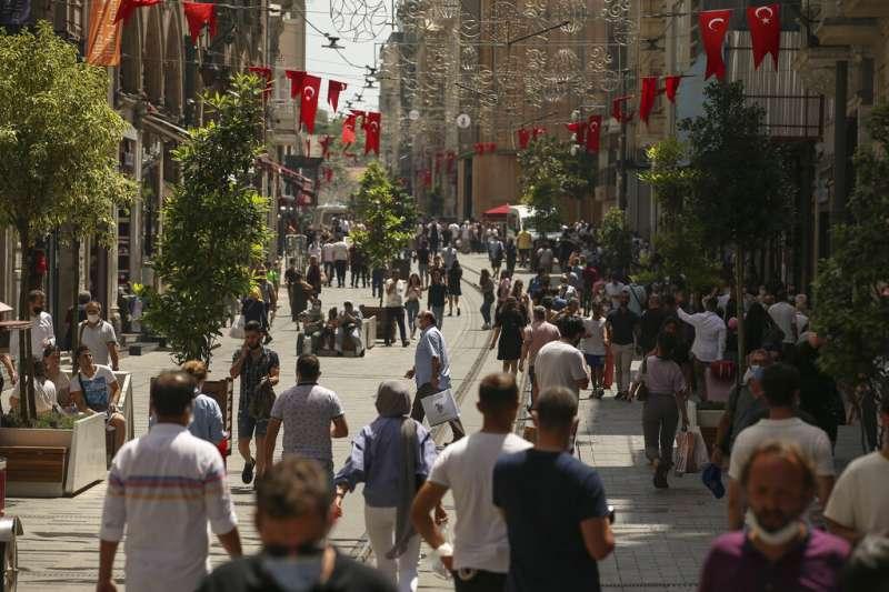 新興市場國中,土耳其是面臨高企債務的標準案例之一。(AP)