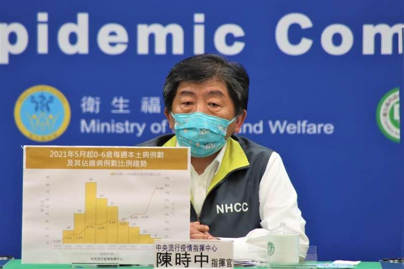 陳時中:染疫死亡數與死亡率,台灣遠低於他國。(指揮中心提供)