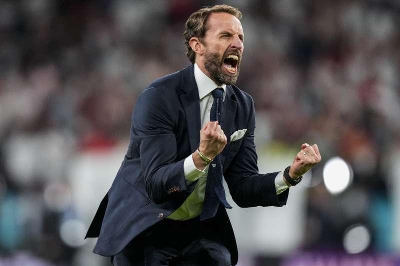 2020歐洲國家盃(歐國盃),英格蘭國家隊總教練紹斯蓋特(Gareth Southgate)(AP)