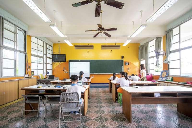 20210711-均一教育基金會2019年初於屏東竹田國小舉辦研習。雲端教改進行式配圖。(均一教育基金會提供)