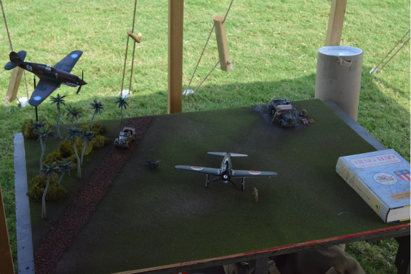 關於飛虎隊的最大誤區,就是飛虎隊曾經與零式戰鬥機交火,就連美國的模型迷都搞出過這樣的烏龍。(許劍虹提供)