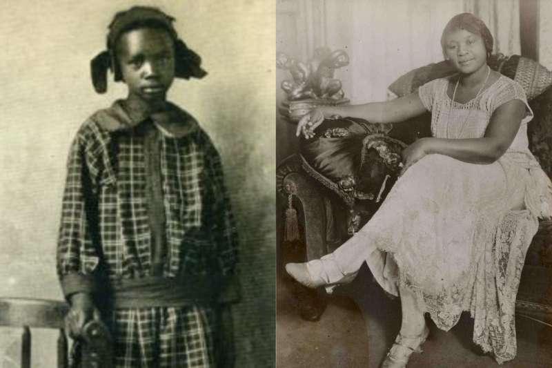12歲非裔女孩擁有的荒涼土地意外發現石油井,讓她從此擠身全美富豪榜。(合成圖/取自Wikipedia、YouTube)