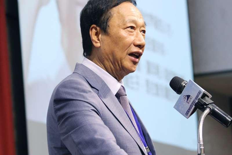 據透露,鴻海創辦人郭台銘(見圖)曾寫親函向總統蔡英文,強調是想替台灣社會做點事,並無2024企圖。(資料照,取自郭台銘臉書)