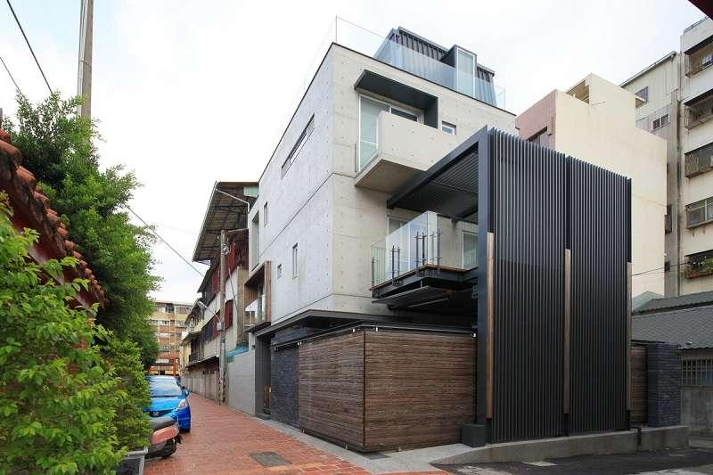 日式簡約清水模建築_台中傅宅設計案(圖片來源 B-STUDIO 建築與室內整合設計)