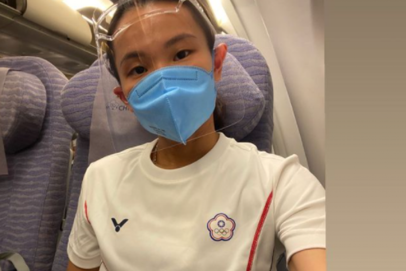 對於前往東奧只能搭乘經濟艙,羽球國手戴資穎在社群平台抱怨。(取自戴資穎Instagram)