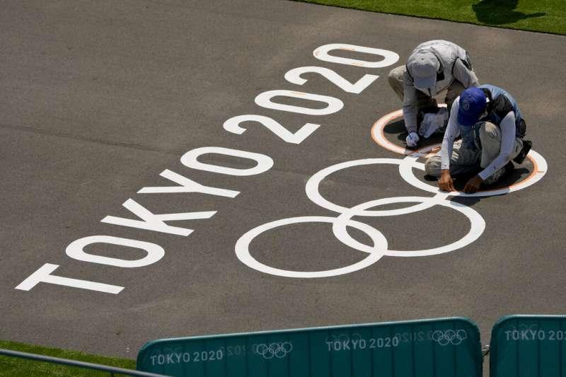 東京奧運。(美聯社)