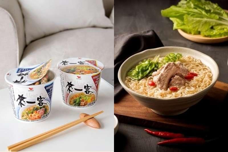 泡麵幾乎成了台灣人的國民美食,台製泡麵不僅比進口泡麵便宜,有些還有濃郁湯頭、大塊肉片,成了不少人晚餐、宵夜的選擇。(合成圖/網路溫度計提供)