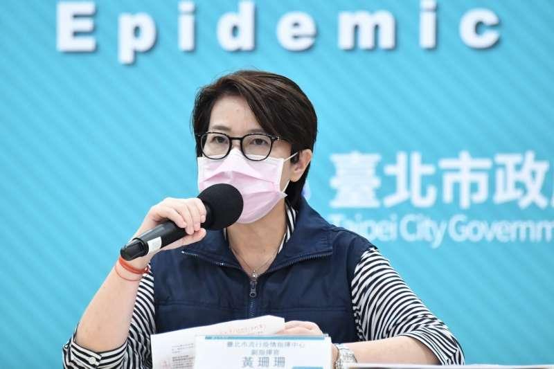 台北市副市長黃珊珊近期接受專訪,被問及民調時僅表示,明天會發生什麼事都不知道,就盡所能做好本分,交給選民做決定。(資料照,北市府提供)
