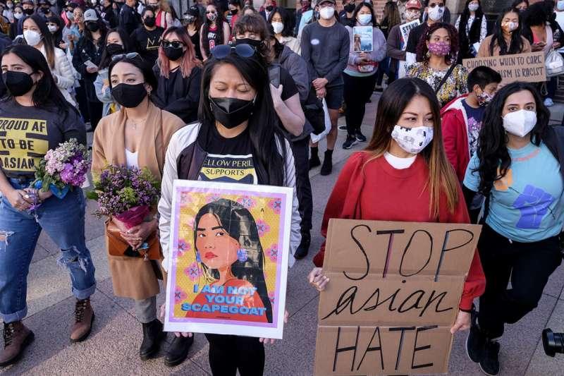 美國亞裔人士抗議受到歧視。(資料照,作者提供)