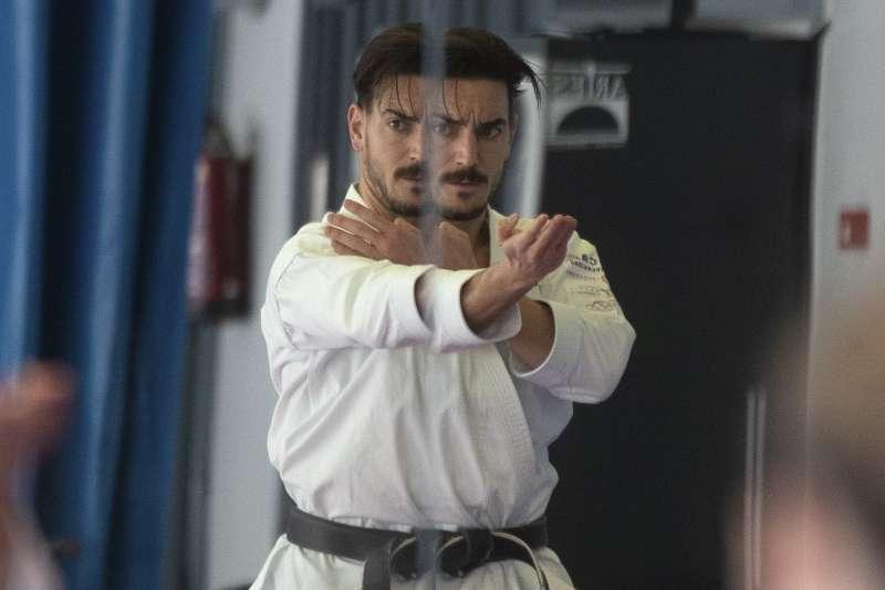 2021日本東京奧運:西班牙空手道選手坤特洛(Damián Quintero)(AP)