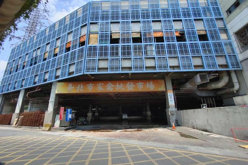 20210721-同樣位在環河南路的台北家禽批發市場,是北部重要的家禽批發市場。(洪敏隆攝)