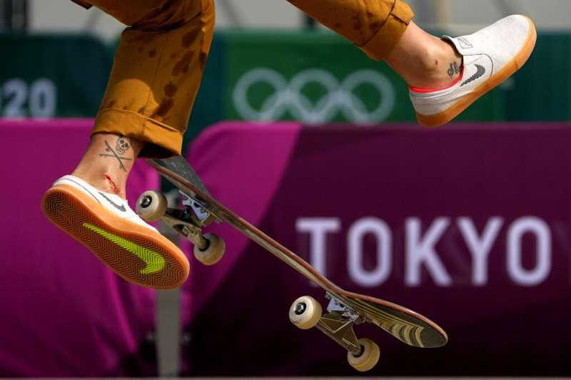 2020東京奧運遲到了一年,但在新冠肺炎威脅下,仍難以保證進行的賽事可以絕對安全。(資料照,美聯社)