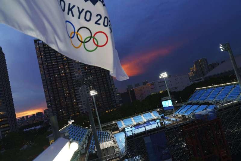 2020東京奧運因疫情延期1年,將於23日晚間開幕。(資料照,美聯社)