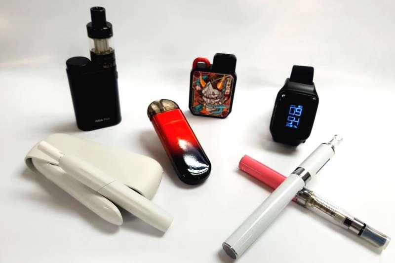 為守護青少年免於電子煙危害,「新北市電子煙及加熱式菸具管理自治條例」已獲行政院核定,預計8月4日公告施行。(圖/新北市衛生局提供)
