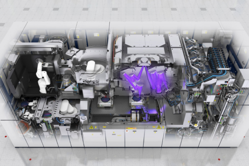 EUV光刻機(圖片來源:ASML)