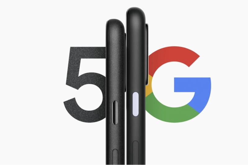 Google Pixel 5a 5G 手機(圖片來源:Google官網)